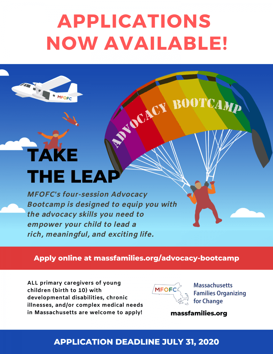 Applications now available for the 2020 Advocacy Bootcamp
