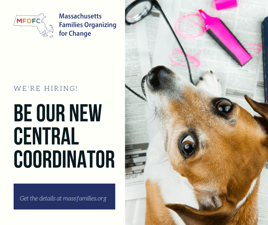 We're hiring - be our new Central Coordinator