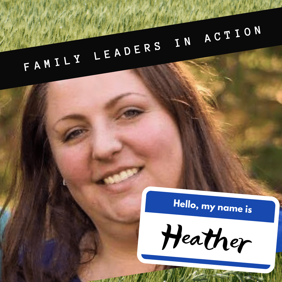 Family leaders in action - Heather Baylies-Grigoreas