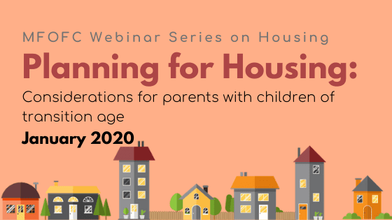 January 2020 Webinar Series on Housing BLOG graphic