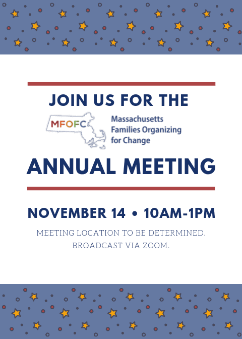 MFOFC Annual Meeting November 14 2019 10am-1pm
