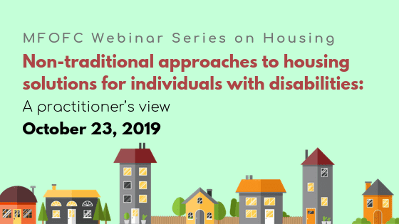 October 16 Webinar Series on Housing BLOG graphic