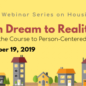 SEPT 19 Webinar Series on Housing