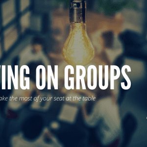 Serving on Groups