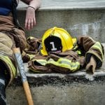 Photo: firefighter