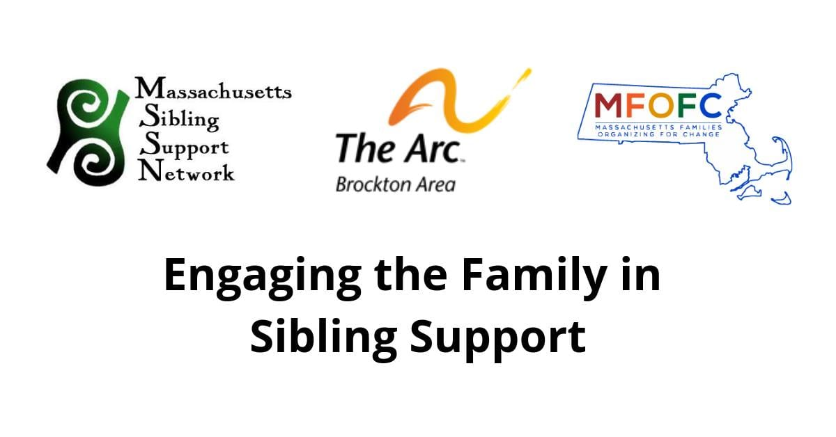 Engaging the Family in Sibling Support