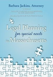 Cover: Legal Planning for special needs in Massachusetts