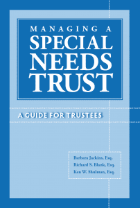 Cover: Managing a Special Needs Trust