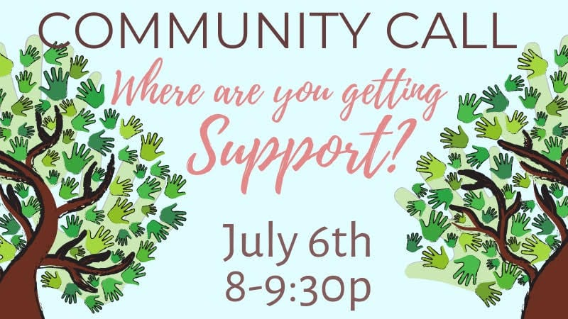 Community Call Where are you Getting Support?